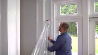 ZipWall -- How to Set Up a Dust Barrier in Minutes