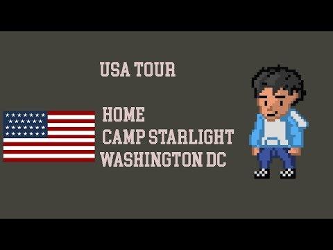 USA TOUR 2017 - HOME TO CAMP STARLIGHT TO WASHINGTON DC