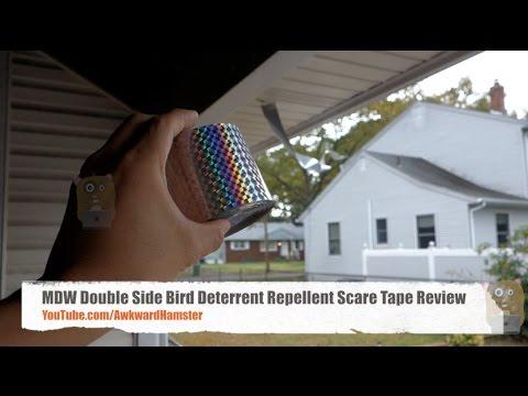 MDW Bird Deterrent Repellent Scare Tape Review
