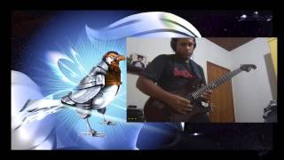SilverHawks Intro Metal Guitar Tribute