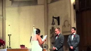 Свадебная клятва.
