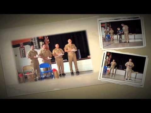 USS Kentucky Visits Worthington Elementary School