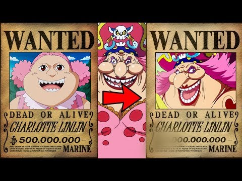 One Piece - Big Mom's Bounty Revealed!!! Her Evolution! [Chapter 868]