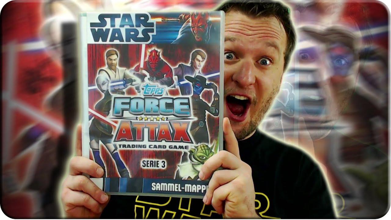 Star Wars Force Attax Series 3 Card #1 Anakin Skywalker Verzamelkaarten, ruilkaarten