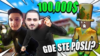 WE STOLE $100.000 FROM THE SAFE! | ROBLOX