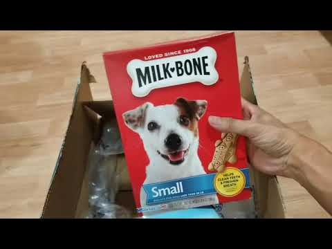unboxing-dog-food-with-pom-mix-dog-(2018)-he's-so-cute