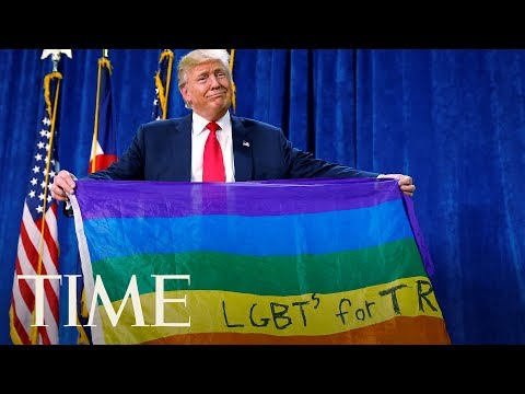 Everything President Trump Has Said About The LGBTQ Community, Including Fighting For Them | TIME