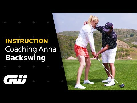 The PERFECT BACKSWING Explained | Michael Campbell Tips | Coaching Anna | Golfing World