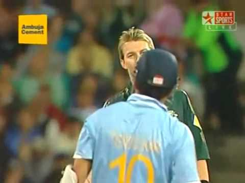 Brett Lee's deadly attack on Tendulkar!