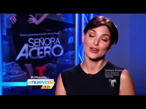 Blanca Soto Protagonista de Señora Acero En Un Nuevo Día 17-Sept-14