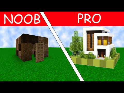 MINECRAFT NOOB VS PRO AND EARTH QUAKE STEALS YOUR HOUSE??