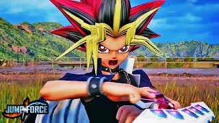 JUMP FORCE - NEW YAMI YUGI & SLIFER GAMEPLAY TRAILER! Yami Yugioh Atem Character Gameplay HD