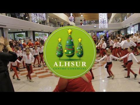 Flashmob flamenco-navideño 2016 Escuela Municipal de Música y Danza de La Zubia (Granada)
