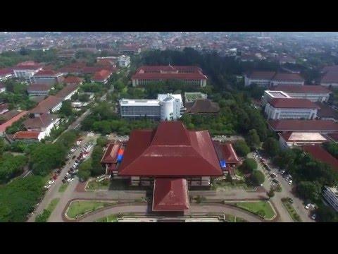 Aerial Video Universitas Gadjah Mada - Yogyakarta - Indonesia