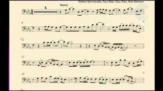 Contrabass - Dope - Lady Gaga - Sheet Music, Chords, and Vocals
