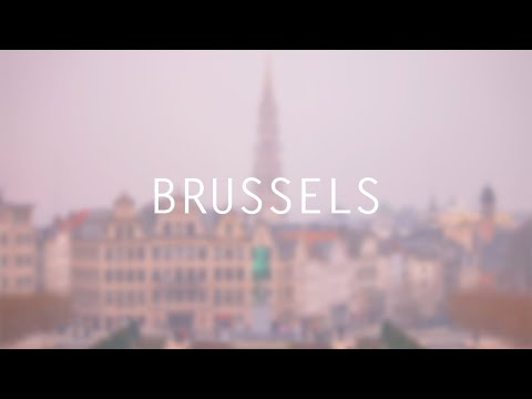 48 Hours in Brussels, Belgium - Canon 70D