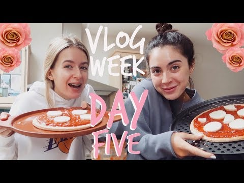 VLOG WEEK! | OUR SKINCARE ROUTINE + VACAY HUNTING! | Sophia and Cinzia