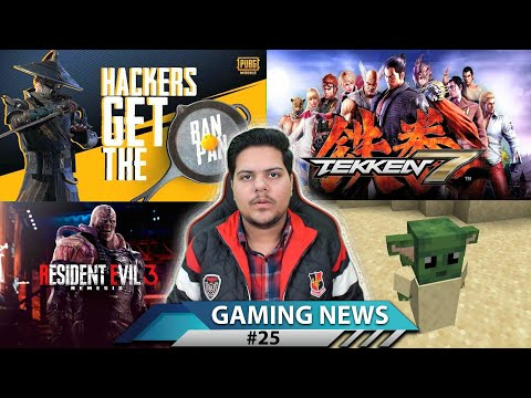 GAMING NEWS #25 - YouTube Gaming New Policy, Tekken 7 Mobile, Resident Evil 3 Remake, Baby Yoda
