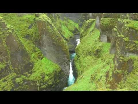 ICELAND fjadrargljufur canyon (hd-video)