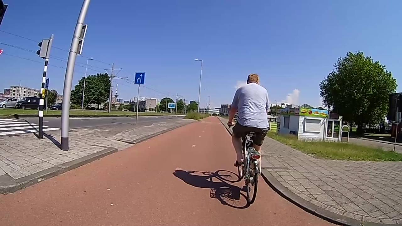 Action Cam Fiets Test Youtube