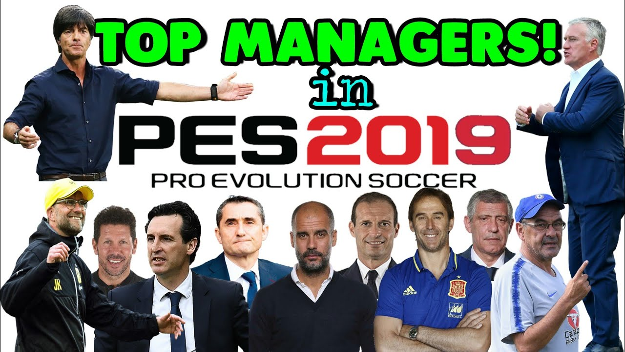 TOP MANAGERS - PES 19 MOBILE | New Management Skill, New Formation, etc