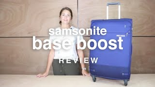 Samsonite Base Boost Luggage Review | luggage.co.nz