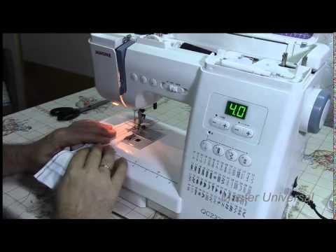 Швейная машина Janome 419s видео обзор. Шьем все, тестируем и .