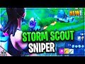 I Got The Fortnite STORM SCOUT SNIPER RIGHT NOW...