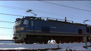EF510-507牽引高速貨物3091レ 吹田→札幌 信越本線下り