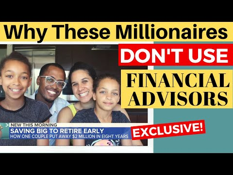 How NOT Using a Financial Advisor Made Us Millionaires