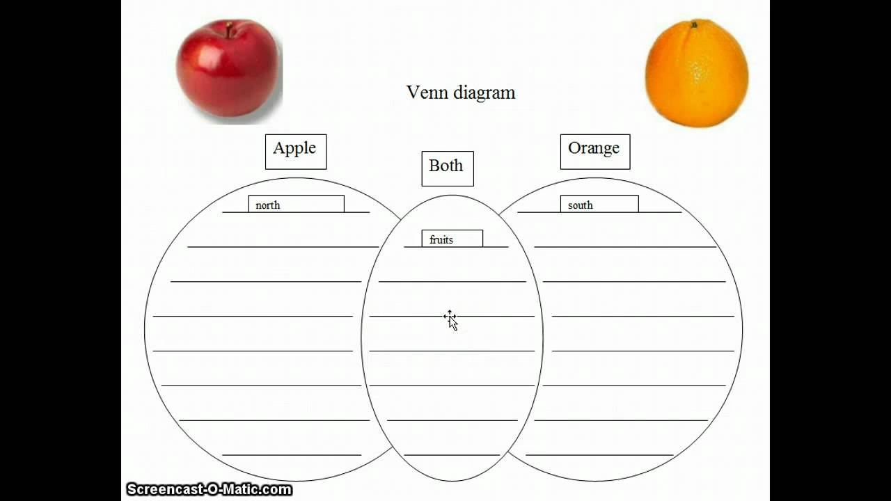 Compare and contrast essay about apples