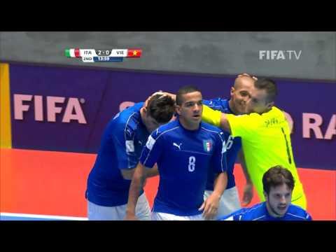 Match 30: Italy v Vietnam - FIFA Futsal World Cup 2016