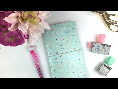 DIY Travelers Notebook