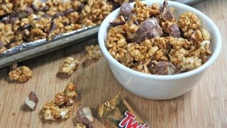 Twix Caramel Popcorn Recipe ....rip Diets