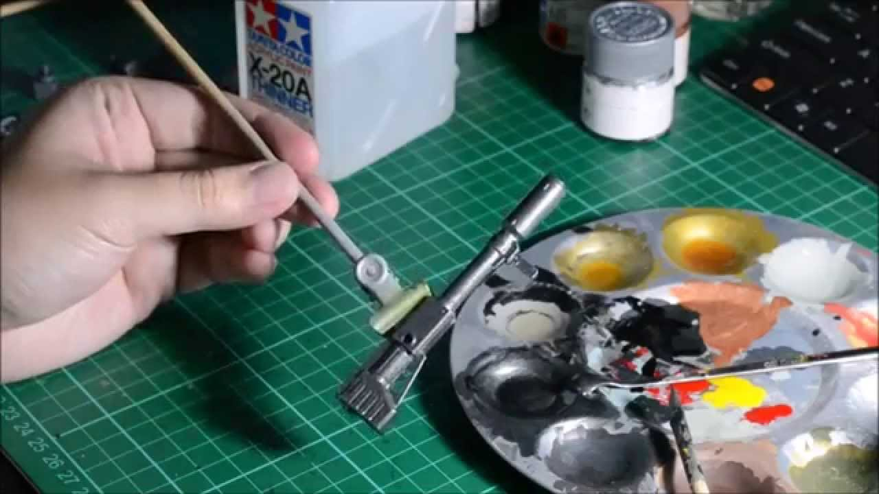 The Gunpla Kit Painting Guide for Realistic Models | FROM