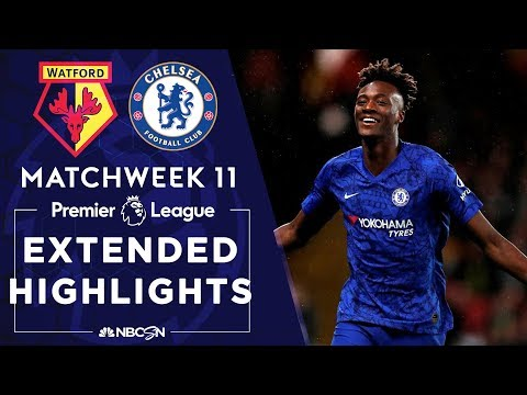 Watford v. Chelsea | PREMIER LEAGUE HIGHLIGHTS | 11/02/19 | NBC Sports