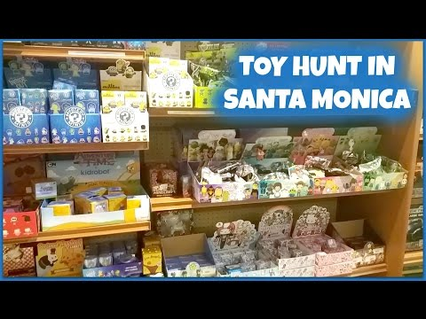 Toy Hunt in Santa Monica