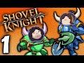 Shovel Knight Co-Op: Bouncin' Away - PART 1 - Game Grumps