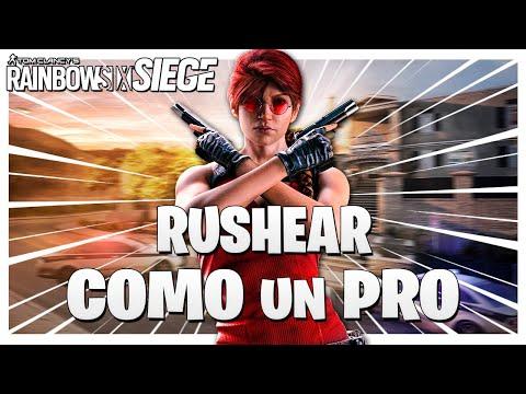 Como RUSHEAR como un PRO | GUIA | Caramelo Rainbow Six Siege Español