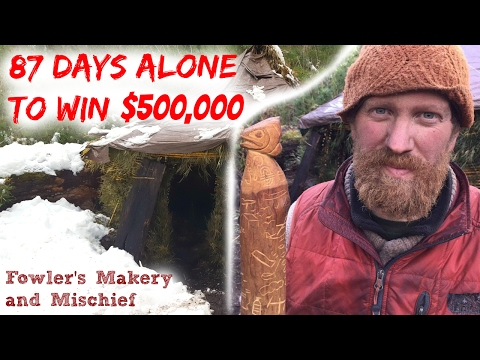 Zachary Fowler Won $500,000 On History's Alone S3E10 Season 3 Episode 10