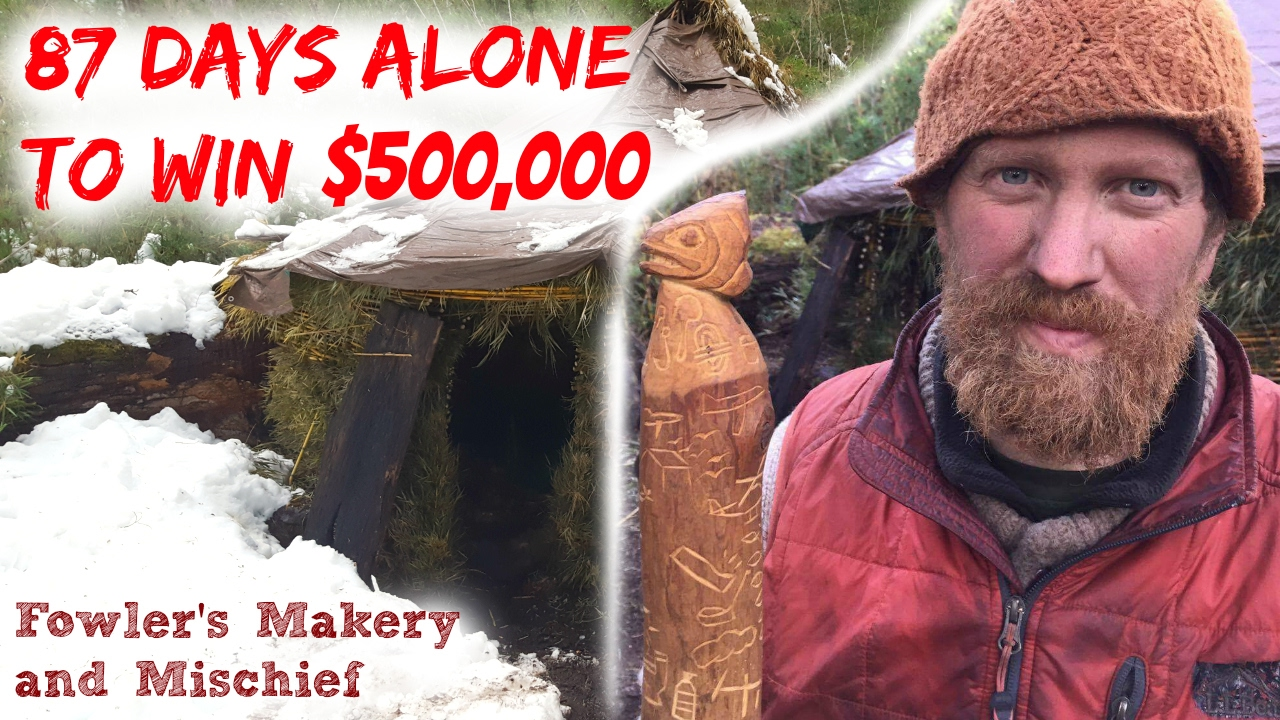 Zachary Fowler Won $500,000 On History's Alone S3E10 Season 3 Episode 10