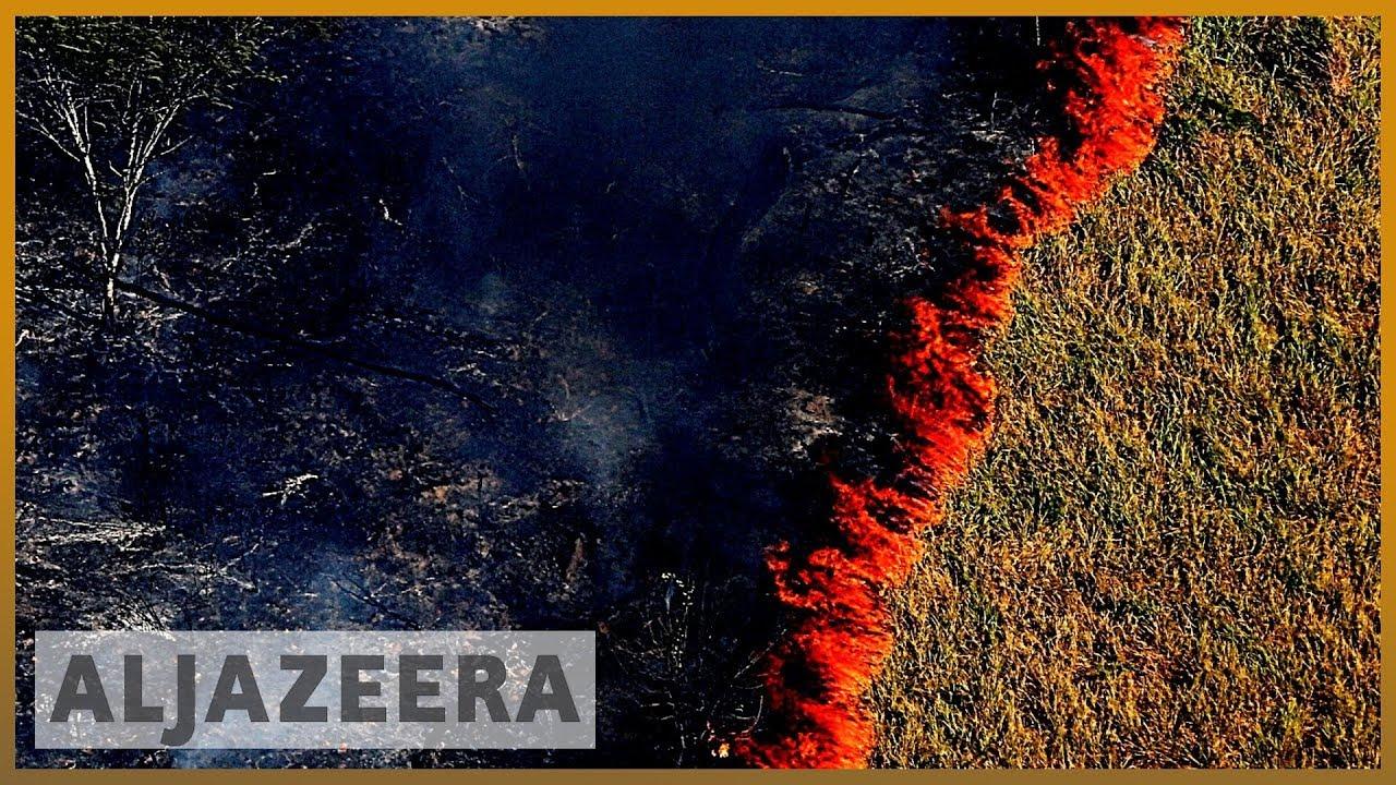 AlJazeera English:Amazon burning: Brazil reports record surge in forest fires