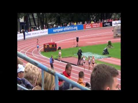 "10 000 m Women ""EUROPEAN ATHLETICS U23 CHAMPIONSHIPS - TALLINN/EST  09-12 JULY 2015"""