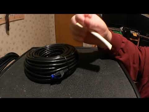 2018 7 3 UnBoxing KabelDirekt TOP Series 75ft Cat6 Gigabit Ethernet Cable With Snagless RJ45 Connect