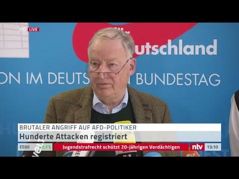 Live: Statement Gauland zum Angriff auf AfD-Politiker Magnitz