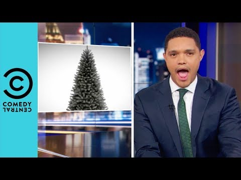 Who Needs a Black Christmas Tree? | The Daily Show With Trevor Noah