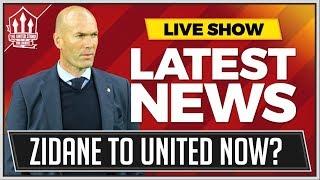 Mourinho OUT Zidane IN? Man Utd News