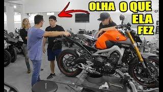A NAMORADA do EX DONO da MT09 DEU em CIMA de MIM 😱 thumbnail