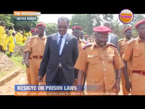 Besigye on prison laws