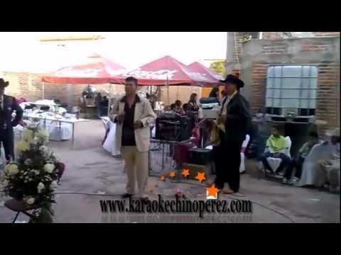 Karaoke en Queretaro La borrachera- Versión Karaoke